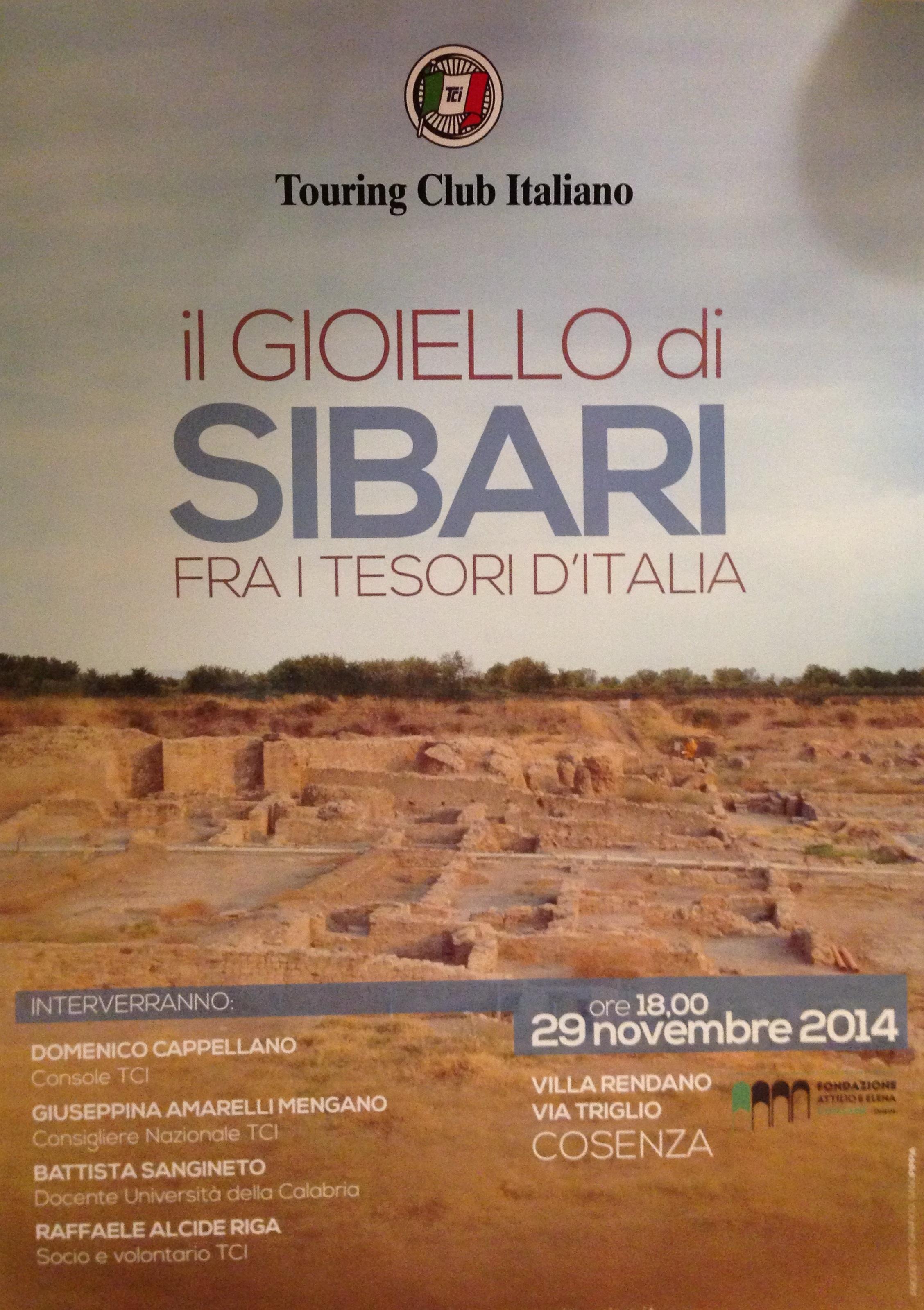 Il gioiello di Sibari tra i tesori d'Italia