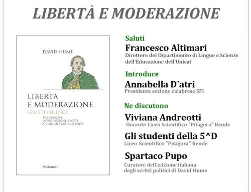 David Hume. Libertà e moderazione