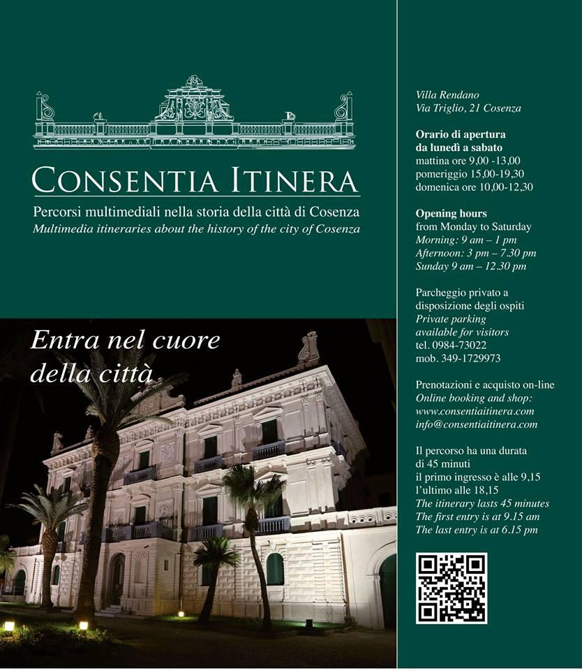 Consentia Itinera. Percorsi multimediali nella storia della città di Cosenza